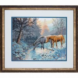 Counted Cross Stitch: Frosty Morning